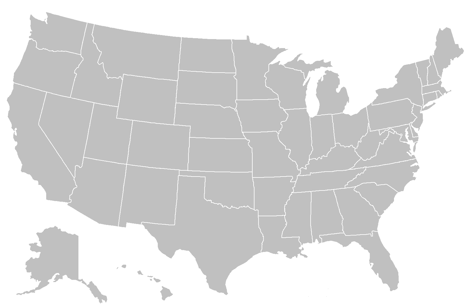 File Blankmap Usa States Png Wikimedia Commons