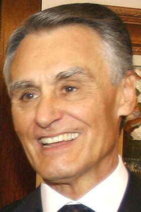 English: The President of Portugal, Aníbal Cav...