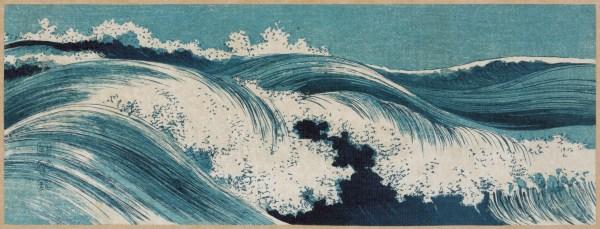 Ocean Wave Japanese Art