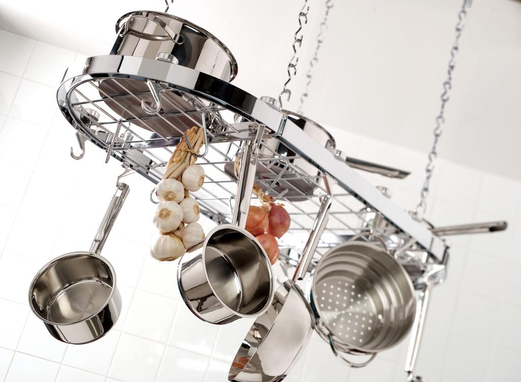 kitchen pot racks modern countertops rack wikipedia