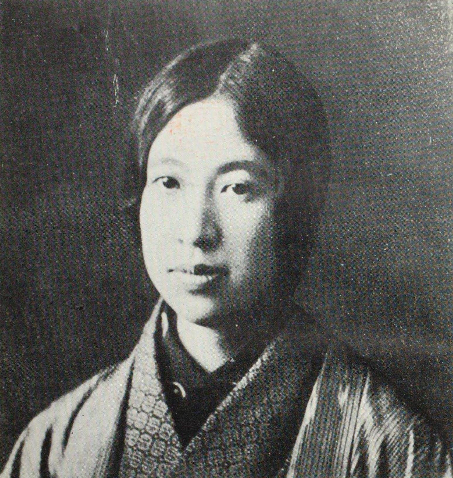 The young Hiratsuka Raichô