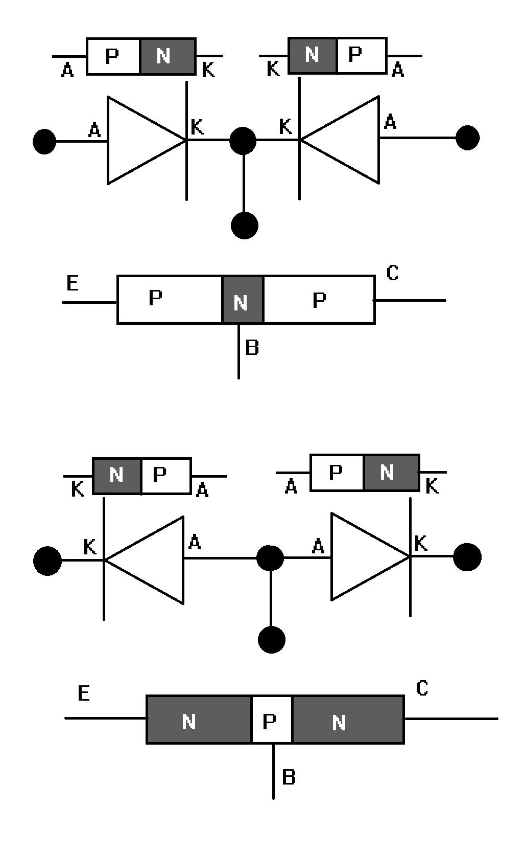 Transistor Diode Model