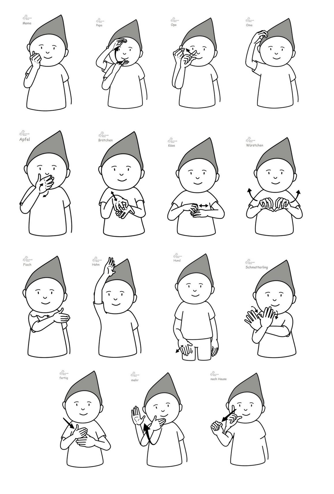 Babygebärden