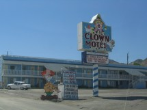 File Clown Motel Tonopah Nevada-kinda Creepy