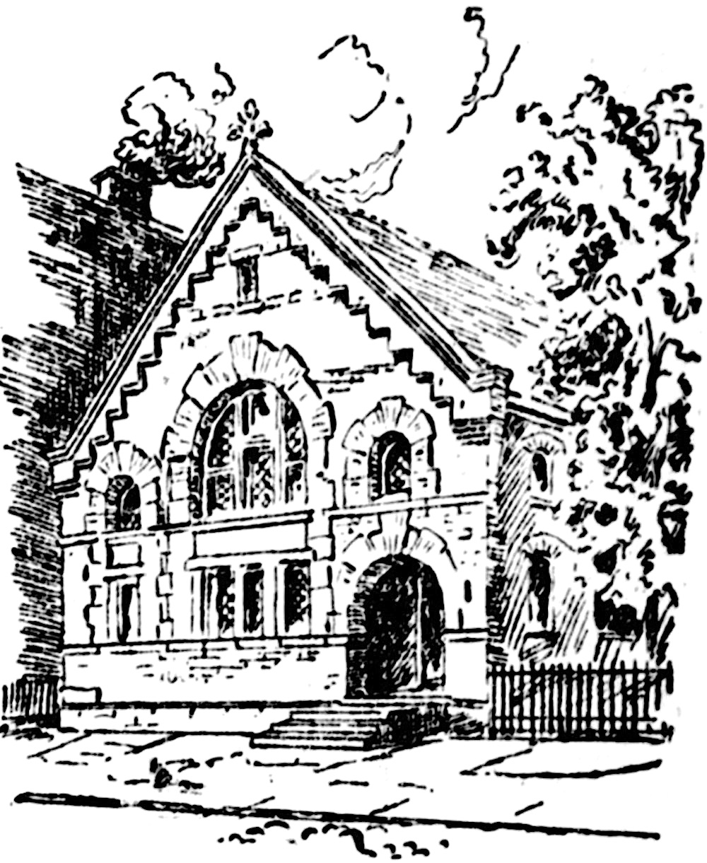 Dedication Of Church Building