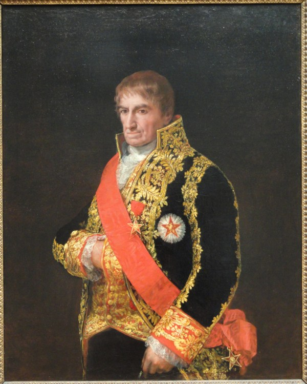 File Portrait Of General Jose Manuel Romero . 1810