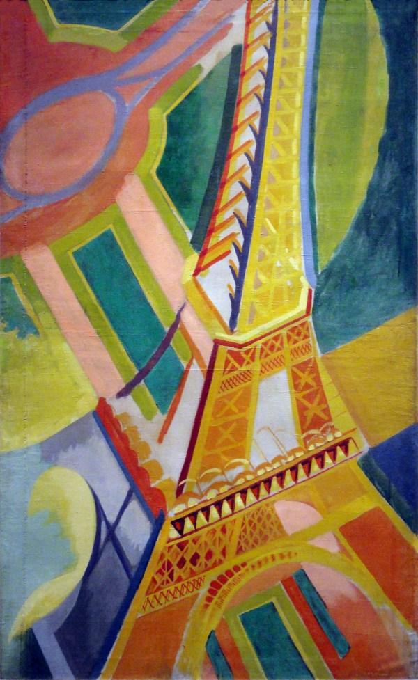 File Robert Delaunay 1926 Tour Eiffel Oil Canvas 169 86 Cm Mus 'art Moderne De La