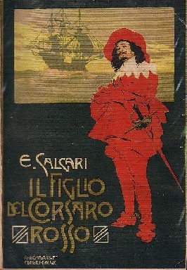 English: Son of the Red Corsair by Emilio Salg...