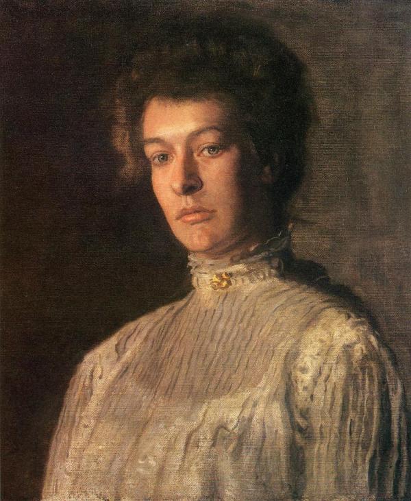 Mrs. Thomas Eakins Portrait