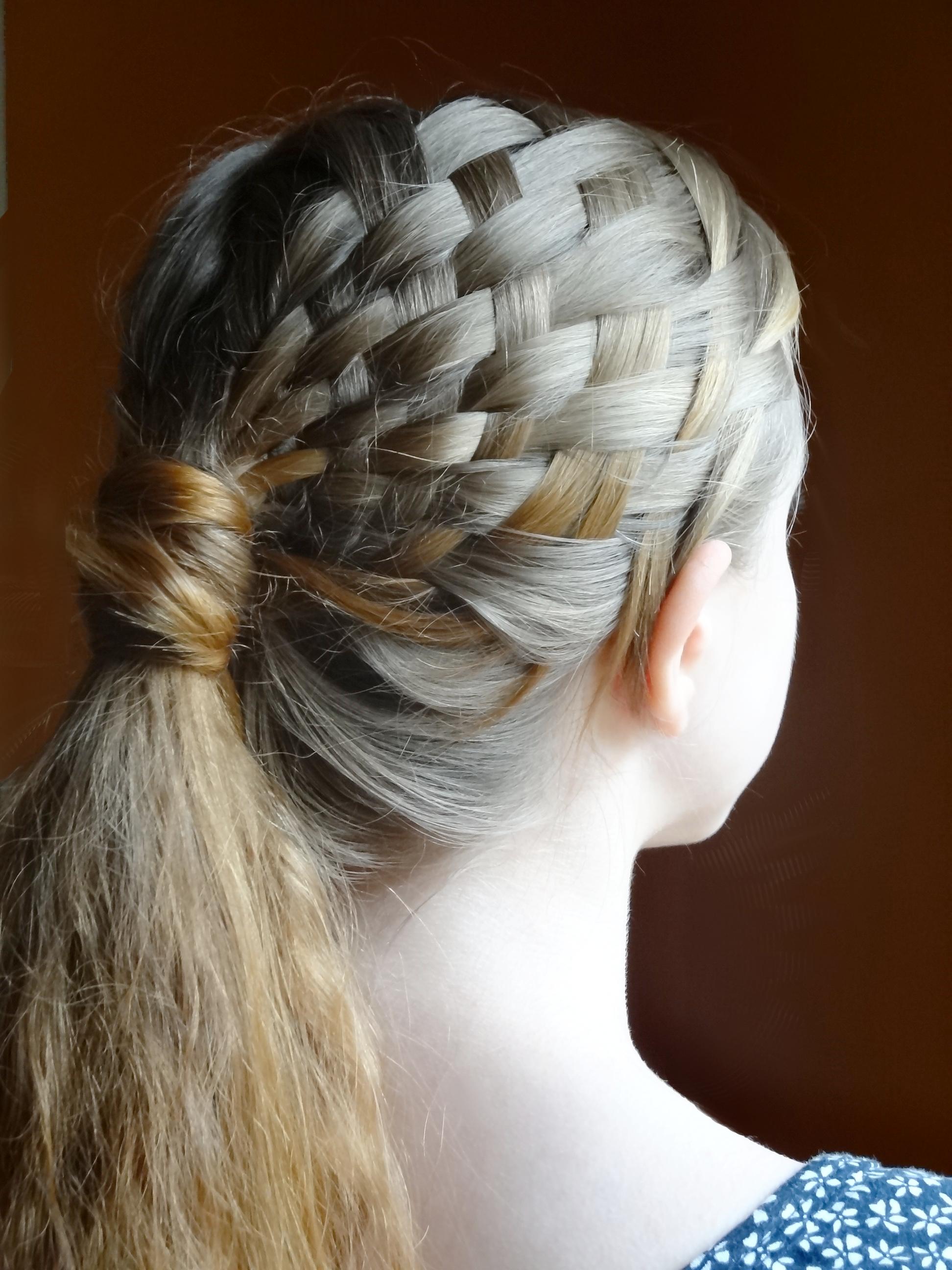 Frisur Affenschaukel Anleitung  schneller haare wachsen