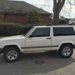 File 2001 Jeep Cherokee Sport 2 Door White 4of7 Jpg Wikimedia Commons