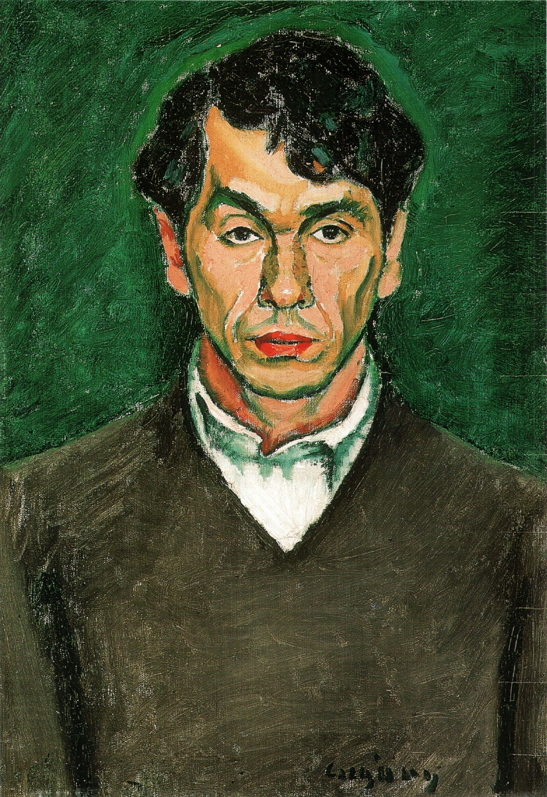 File:CZIGÁNYDezső (1883-1937) painter Self-portrait 1912.jpg