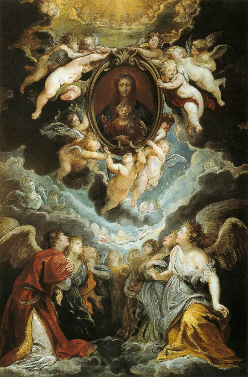 Peter Paul Rubens - The Madonna della Vallicel...