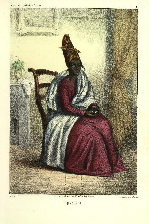 Abbe Boilat, Signare, 1853