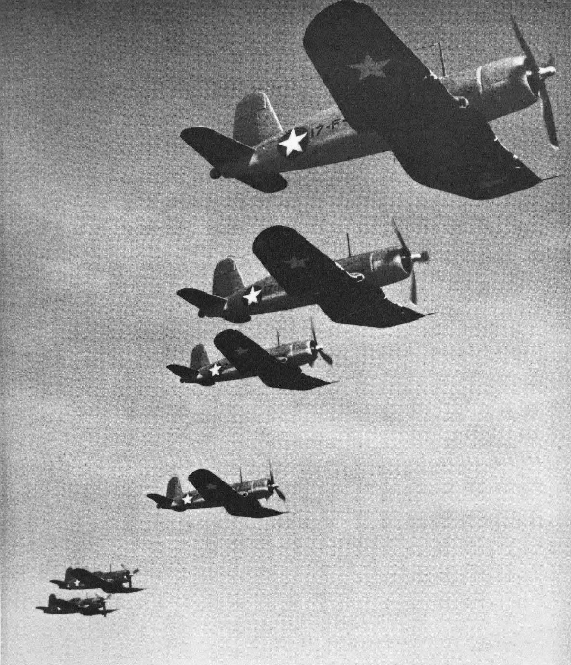 hight resolution of early f4u 1s of vf 17