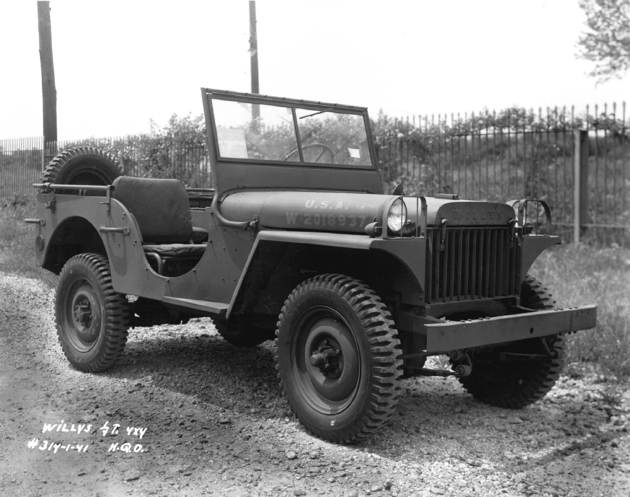 hight resolution of willys ma