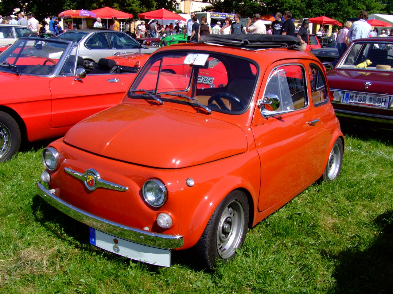 hight resolution of file abarth fiat 500 1973 jpg