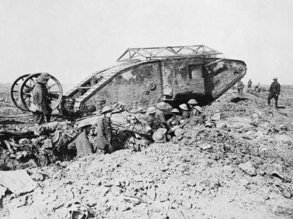 Tanques das Forças Inglesas