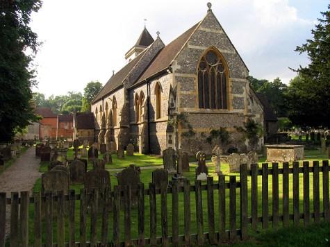 St Mary the Virgin, Speen, Berkshire