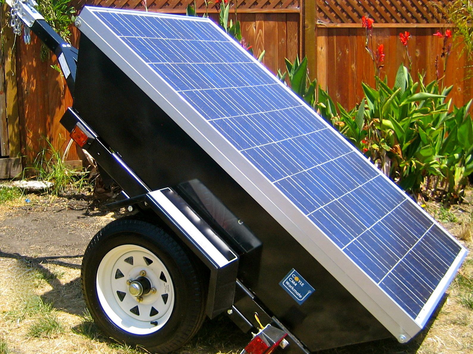 hight resolution of profile picture of a mobile solar powered generator