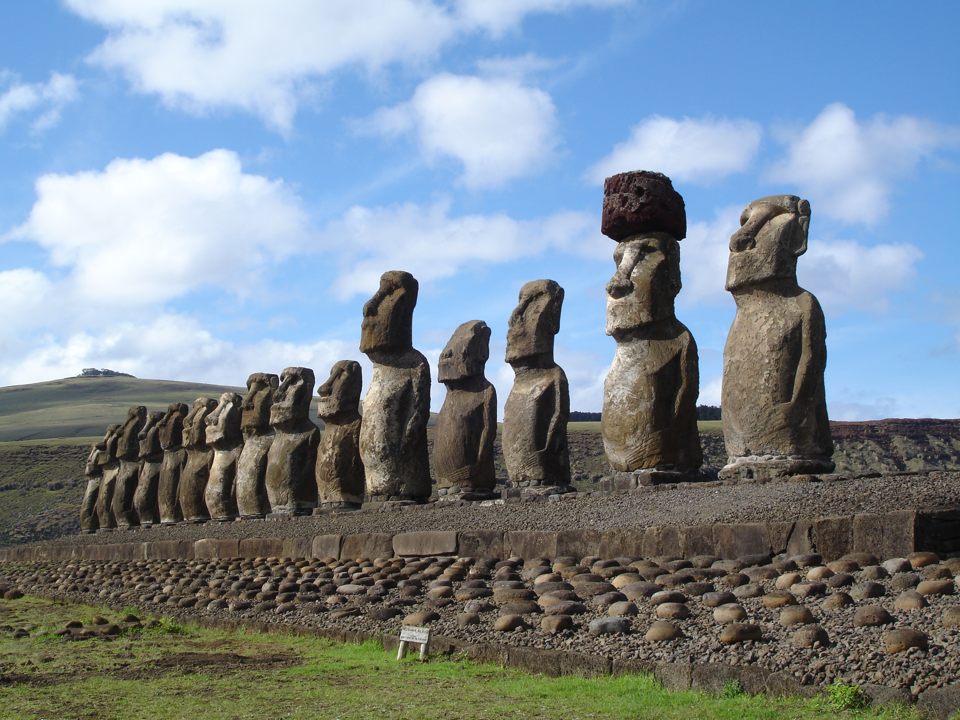 Easter Island in Chile one of the most mystifying places
