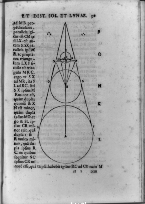 small resolution of file geometric figure of earth sun and moon calculated by aristarchus to approximate real scale of the solar system lccn92516455 jpg