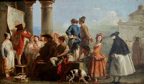 Tiepolo, Giovanni Domenico - The Storyteller -...