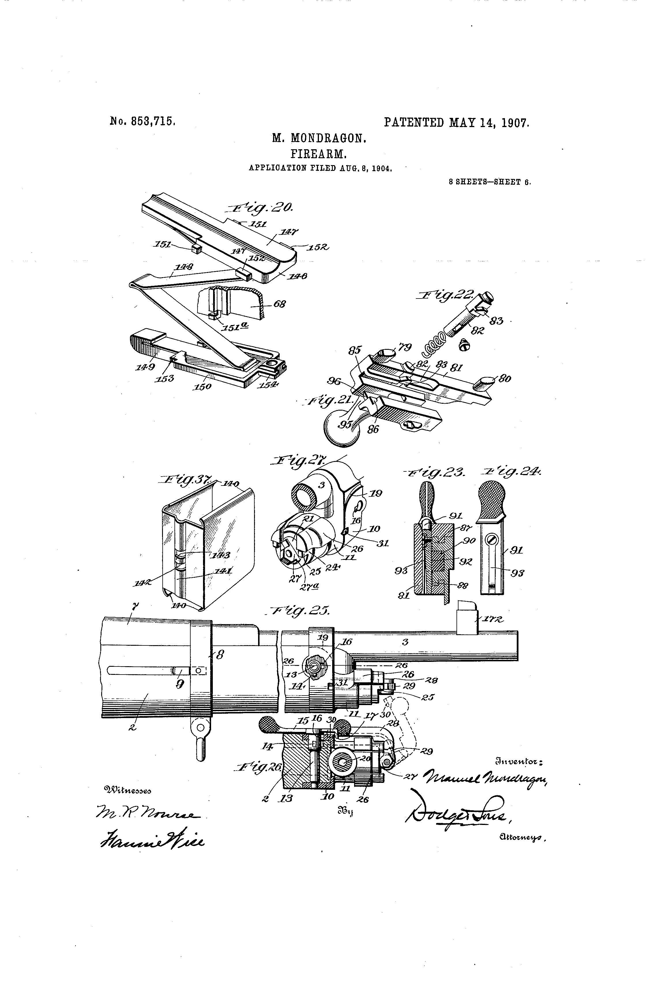 File 006 Mondragon Patent Rifle