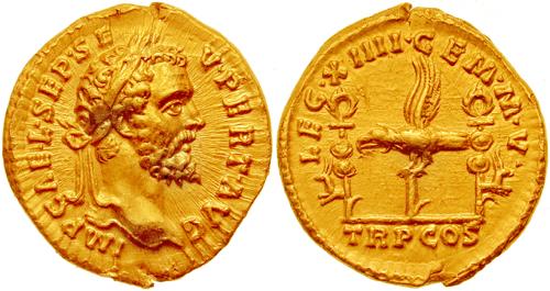 File:Aureus Septimius Severus-193-leg XIIII GMV.jpg