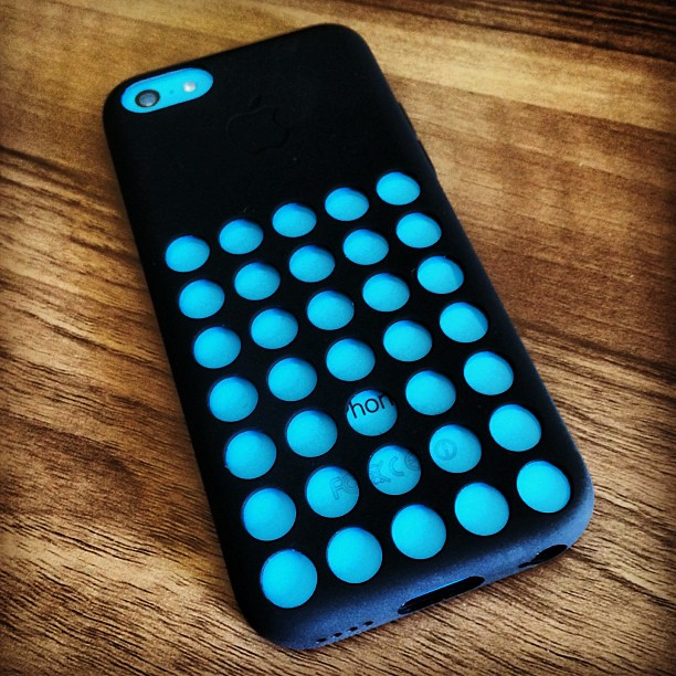 file blue iphone 5c