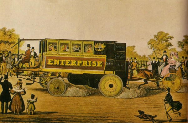 1833 Enterprise Steam Omnibus Built London