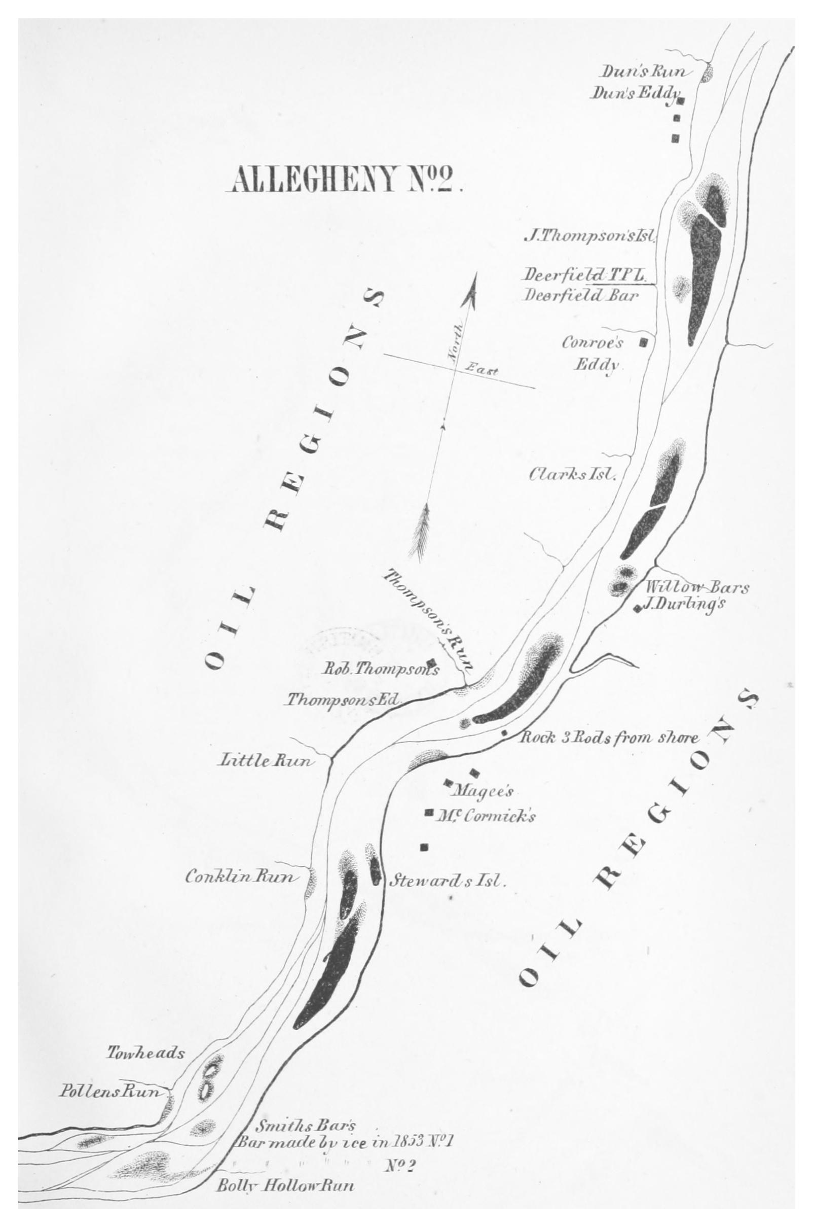File:GILLELEN(1864) p047 Oil Creek, Allegheny River, Map 2