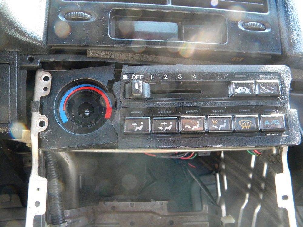 medium resolution of cracked climate control the best resource for honda crx