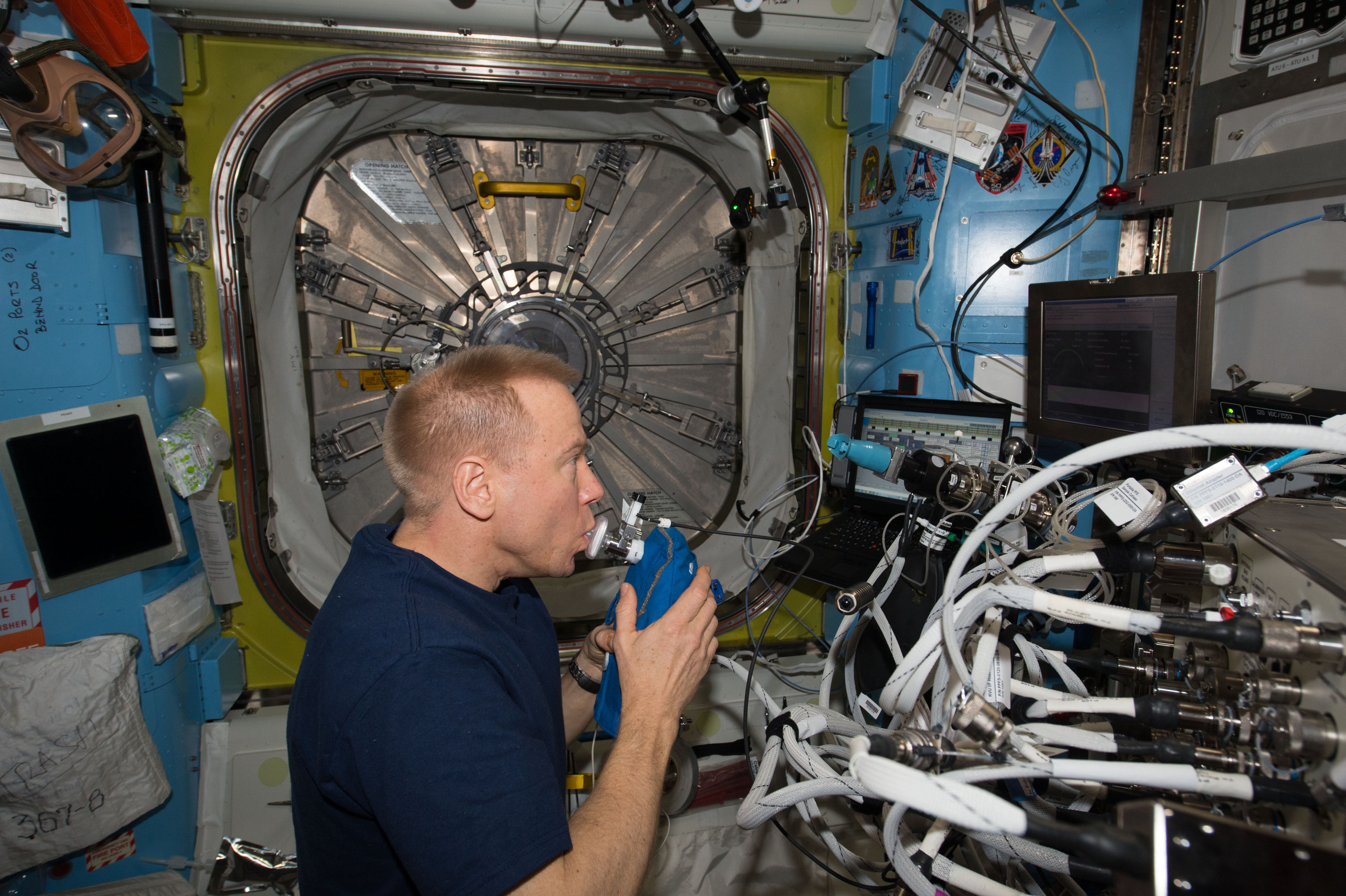 File Iss 46 Tim Kopra With Gasyzer In The Quest
