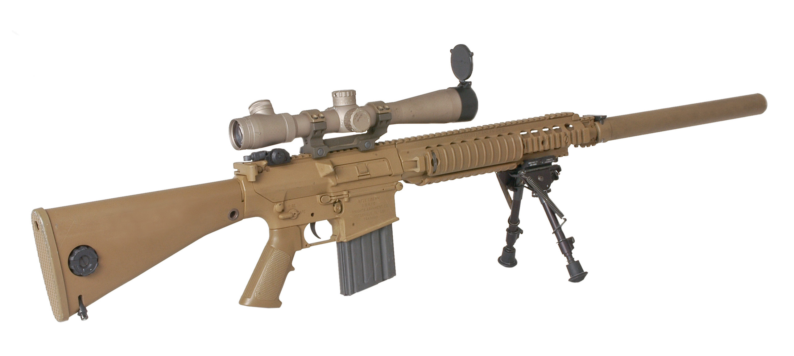Knights Armament M16 Rail System
