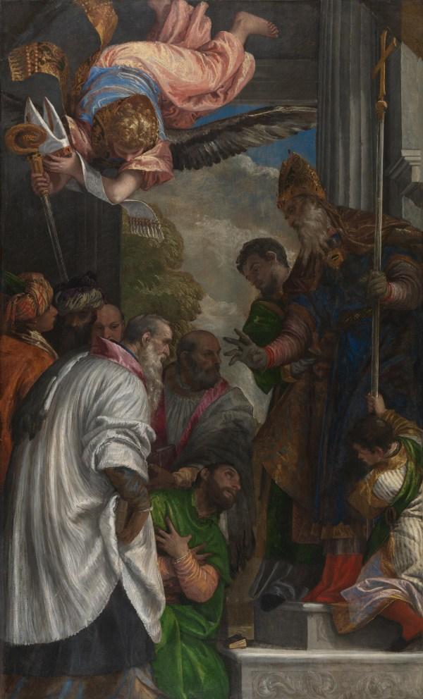 File Paolo Veronese - La Consacrazione Di San Nicola