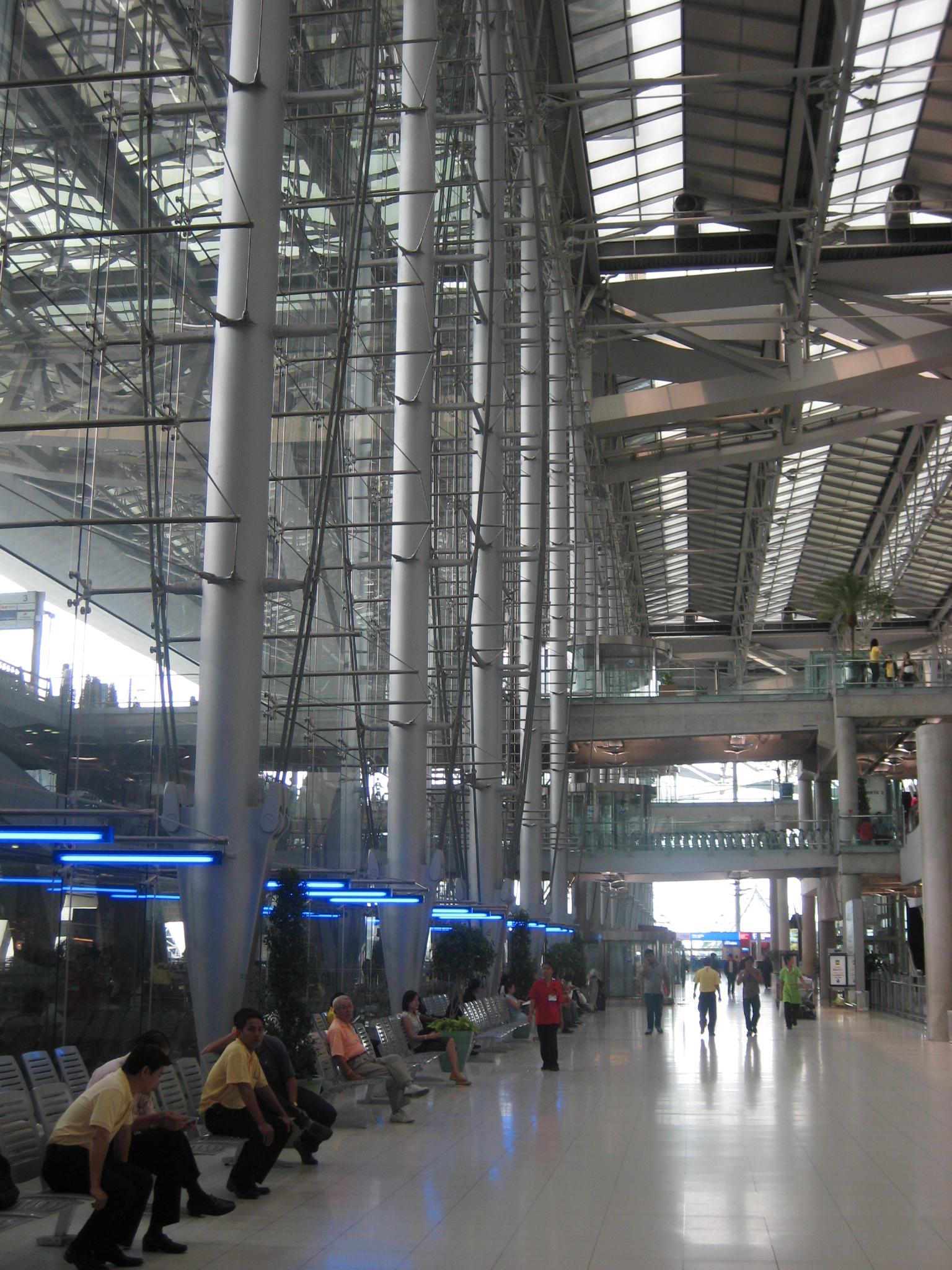 FileSuvarnabhumi Airport Arrival HallJPG  Wikimedia