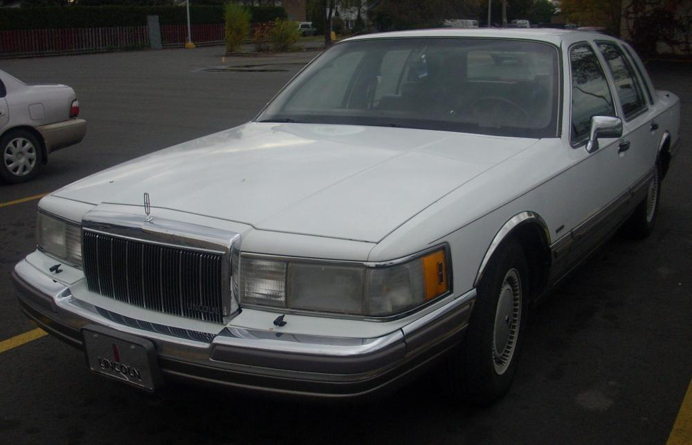 medium resolution of file 1990 92 lincoln town car jpg