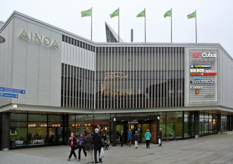 Ainoa shopping centre  Wikipedia
