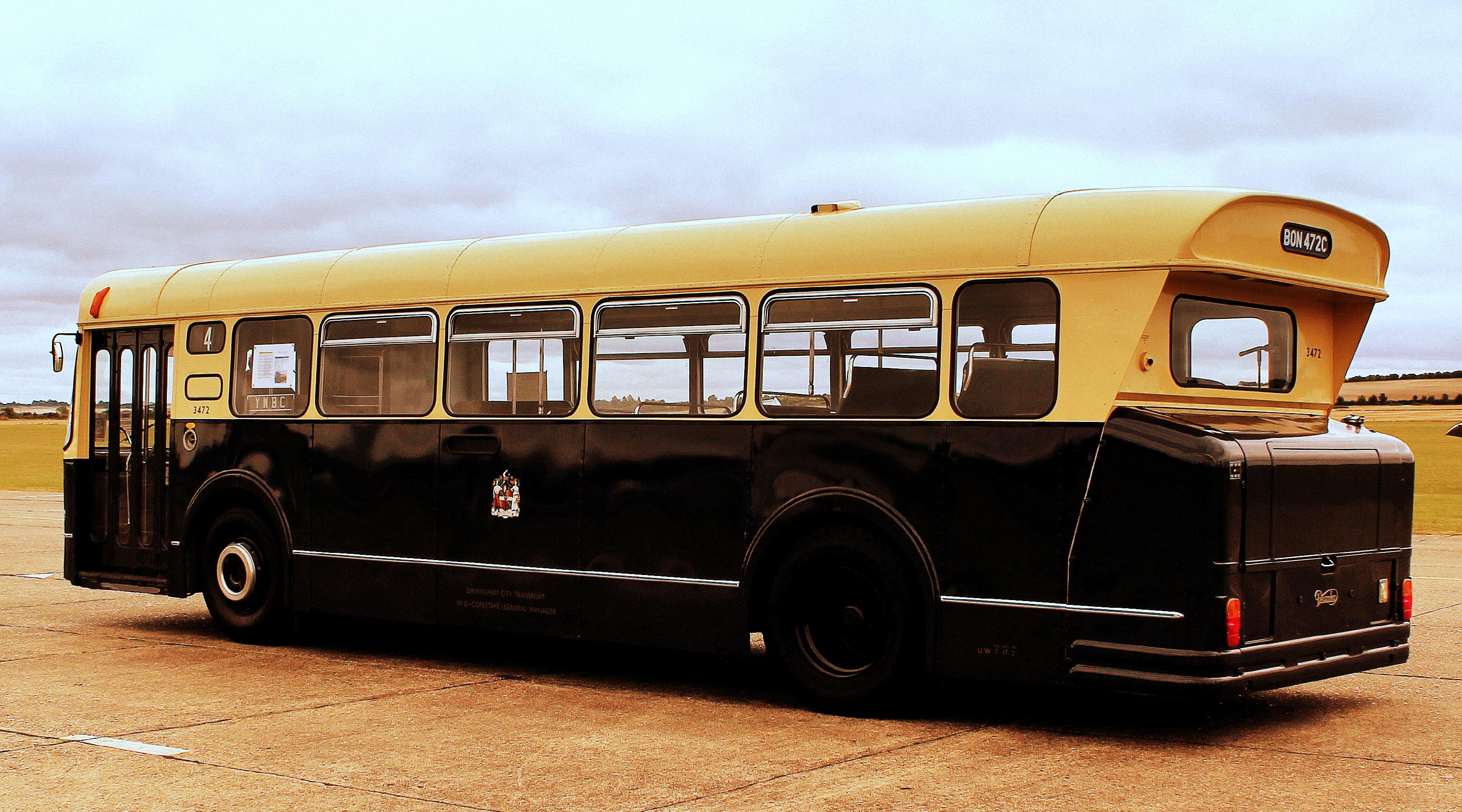 File:Birmingham City Transport bus 3472 (BON 472C). Showbus 2012 rally (2).jpg - Wikimedia Commons