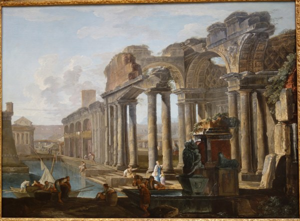 File Capriccio Of Classical Ruins With Boats Hubert