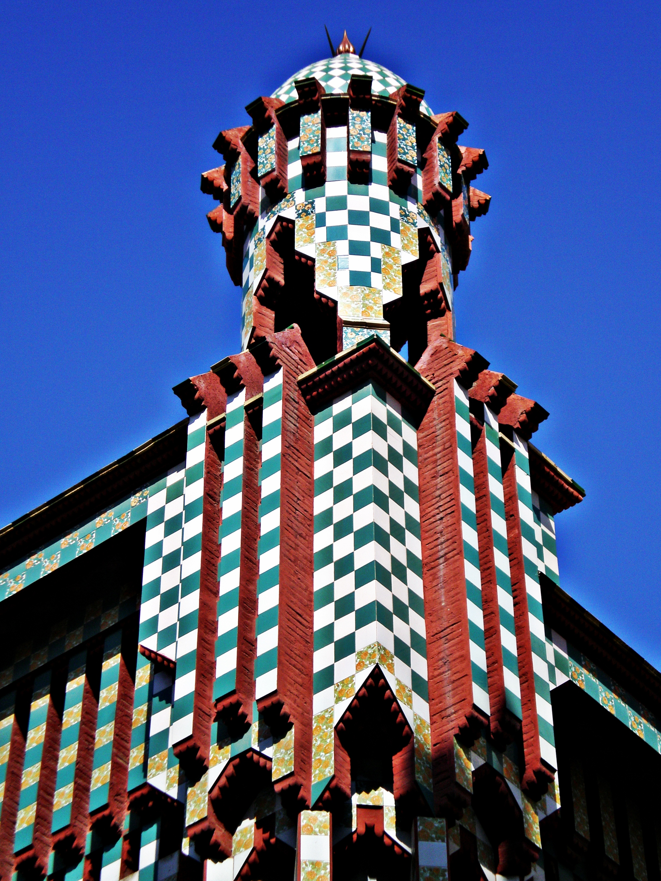 FichierCasa Vicens Barcelona  10jpg  Wikipdia