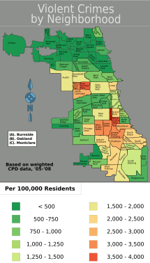 Crime In Chicago Map
