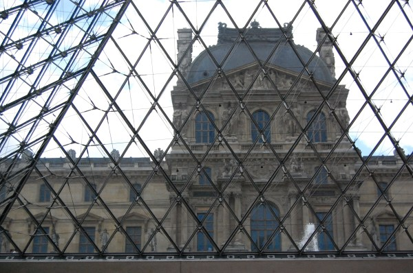 Inside Louvre Museum Pyramid