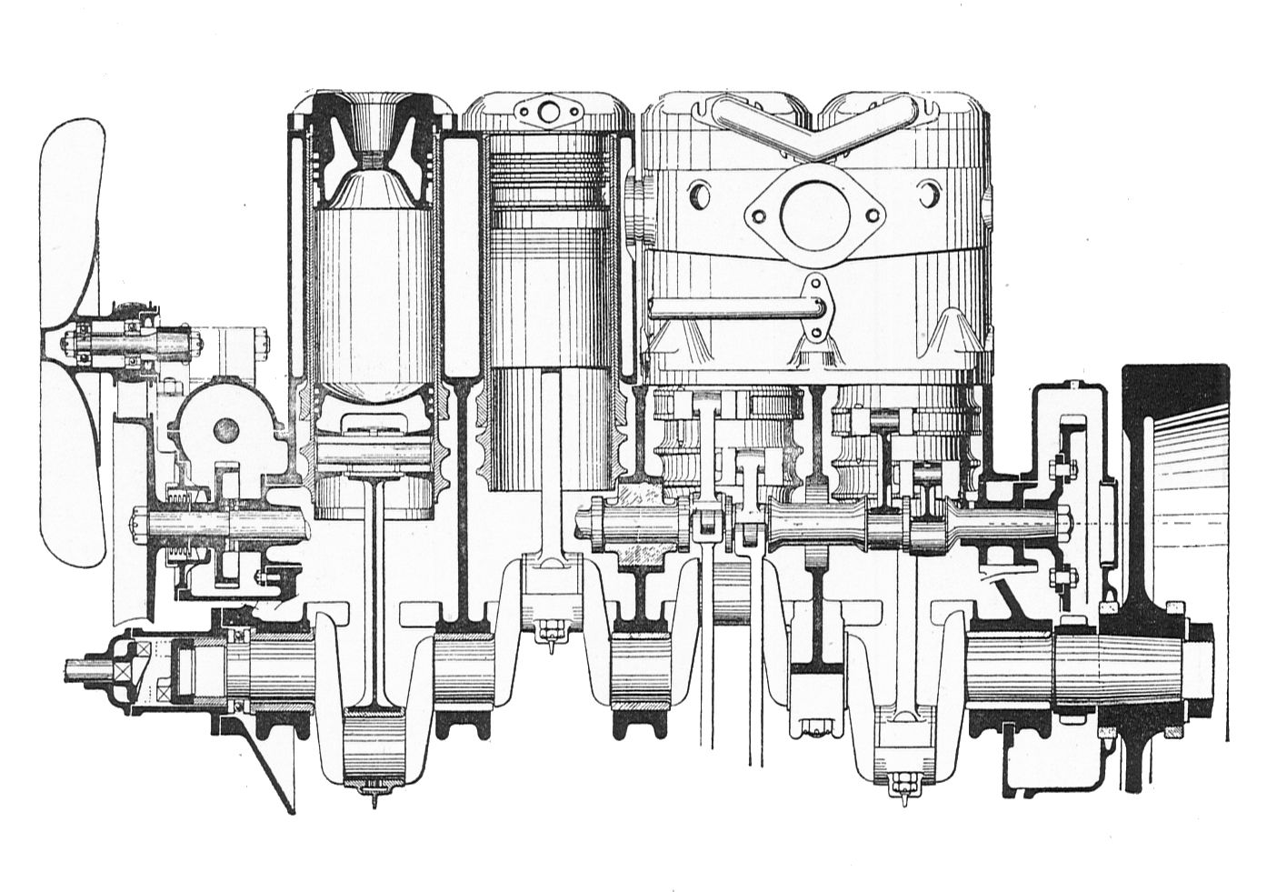 File:Knight-Daimler engine, side section (Rankin Kennedy