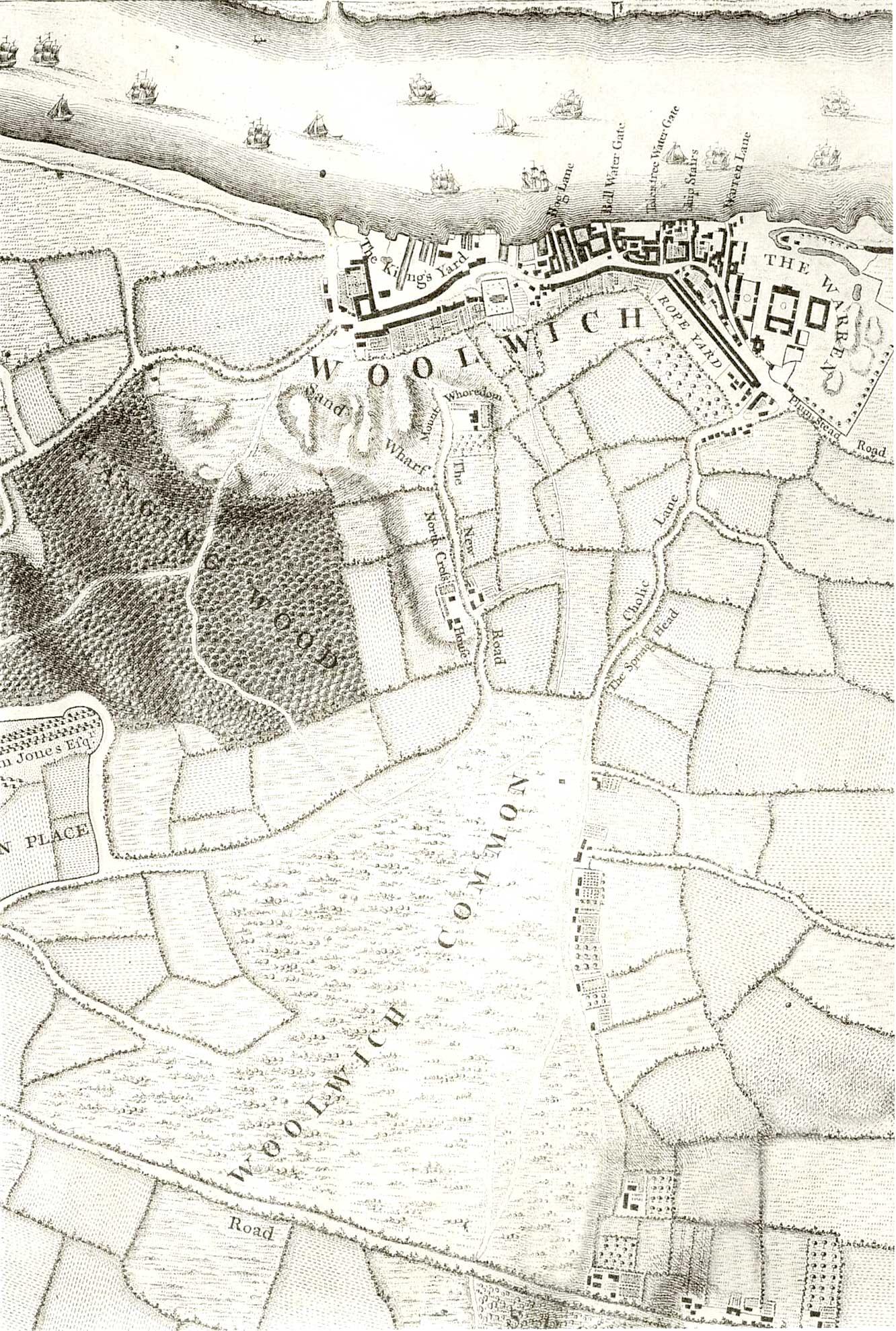 File:Map of Woolwich, 1746.jpg - Wikipedia