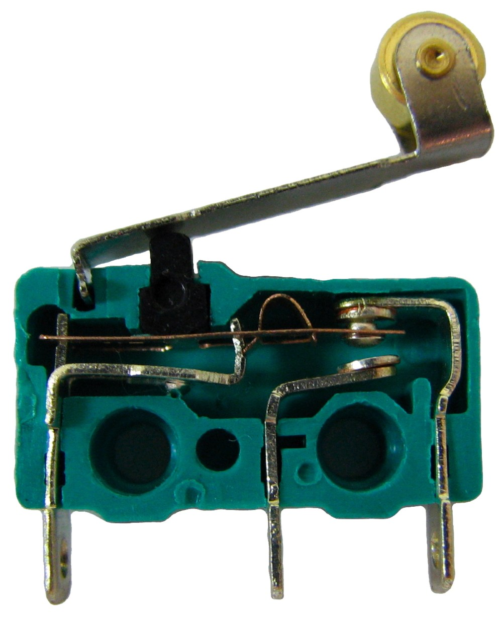 medium resolution of the internals of a micro switch contacts from left to right are common