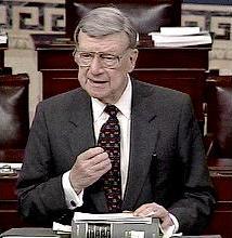 Senator William V. Roth, Jr. (R-DE), c. 2000