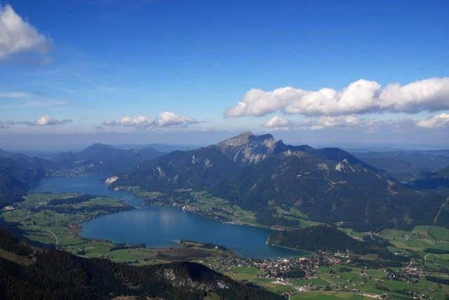 Wolfgangsee, Austria by Wikimedia
