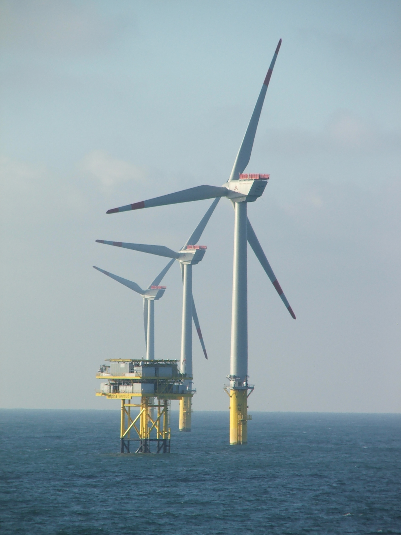 hight resolution of offshore wind power